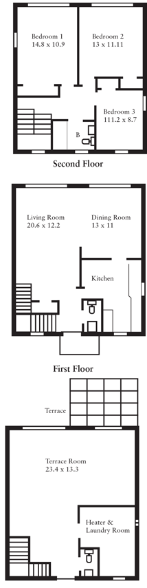TownhomeFloorplans_3-Bedroom